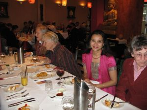 Annette, Simrita, Liz and Mari at the launch