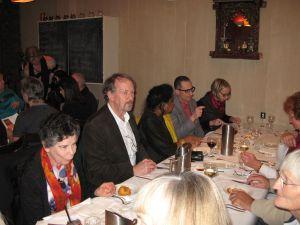 Glenis, David, Yaso, Meredith and her husband