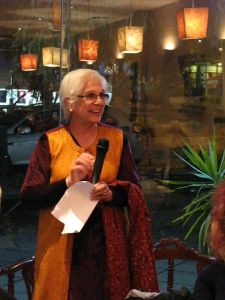 Supriya speaking at the launch