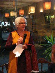 Supriya speaking at the launch